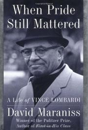Cover art for WHEN PRIDE STILL MATTERED