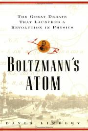 BOLTZMANN'S ATOM by David Lindley
