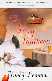 THE FIERY PANTHEON by Nancy Lemann