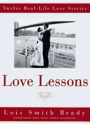 Cover art for LOVE LESSONS
