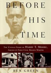 Book Cover for BEFORE HIS TIME