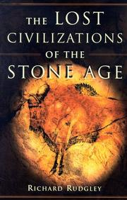 Book Cover for THE LOST CIVILIZATIONS OF THE STONE AGE