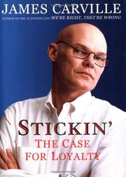 STICKIN' by James Carville