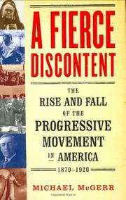 Cover art for A FIERCE DISCONTENT