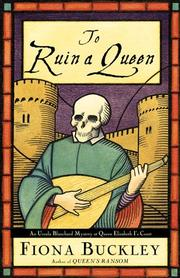 Cover art for TO RUIN A QUEEN