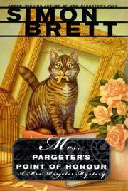 MRS. PARGETER'S POINT OF HONOUR by Simon Brett
