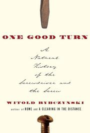 Cover art for ONE GOOD TURN