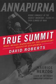 TRUE SUMMIT by David Roberts