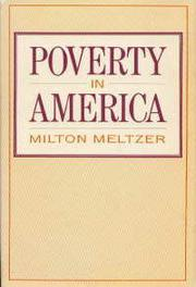 POVERTY IN AMERICA by Milton Meltzer