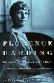 FLORENCE HARDING by Carl Sferrazza Anthony