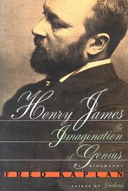HENRY JAMES by Fred Kaplan