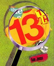 THE 13TH CLUE by Ann Jonas