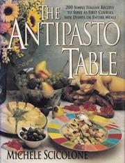 THE ANTIPASTO TABLE by Michele Scicolone