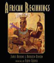 Cover art for AFRICAN BEGINNINGS