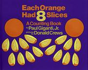 Cover art for EACH ORANGE HAD EIGHT SLICES
