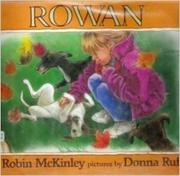 ROWAN by Robin McKinley