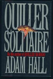 QUILLER SOLITAIRE by Adam Hall