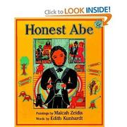 HONEST ABE by Edith Kunhardt