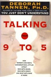 TALKING FROM 9 TO 5 by Deborah Tannen