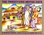 Cover art for THE TWENTY-FIVE MIXTEC CATS