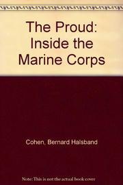 THE PROUD by Bernard Halsband Cohen