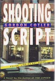 Cover art for SHOOTING SCRIPT