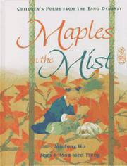 Cover art for MAPLES IN THE MIST