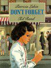DON'T FORGET by Patricia Lakin
