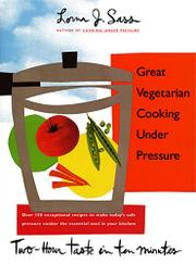 Cover art for GREAT VEGETARIAN COOKING UNDER PRESSURE