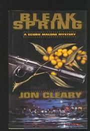 BLEAK SPRING by Jon Cleary