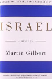 ISRAEL: A History by Martin Gilbert