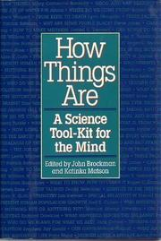 Book Cover for HOW THINGS ARE