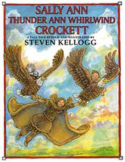 Cover art for SALLY ANN THUNDER ANN WHIRLWIND CROCKETT
