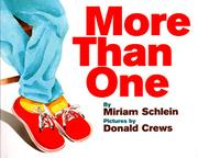 MORE THAN ONE by Miriam Schlein