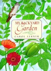Book Cover for MY BACKYARD GARDEN