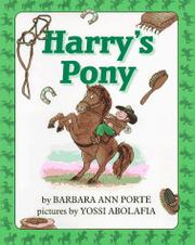 HARRY'S PONY by Barbara Ann Porte