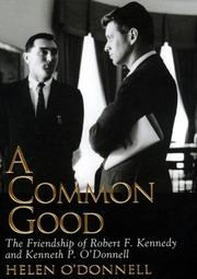 A COMMON GOOD by Helen O'Donnell