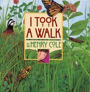 Book Cover for I TOOK A WALK