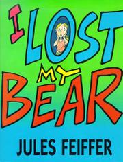 Cover art for I LOST MY BEAR