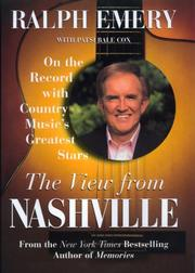 THE VIEW FROM NASHVILLE by Ralph Emery