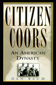 Cover art for CITIZEN COORS
