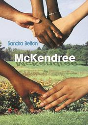 McKENDREE by Sandra Belton