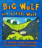 Cover art for BIG WOLF AND LITTLE WOLF