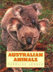 Book Cover for AUSTRALIAN ANIMALS