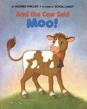 Cover art for AND THE COW SAID MOO!