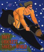 Book Cover for DAVY CROCKETT SAVES THE WORLD