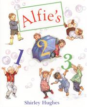 ALFIE'S 1-2-3 by Shirley Hughes