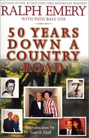 Cover art for 50 YEARS DOWN A COUNTRY ROAD