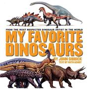 Cover art for MY FAVORITE DINOSAURS