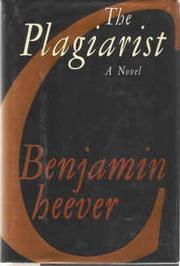 THE PLAGIARIST by Benjamin Cheever